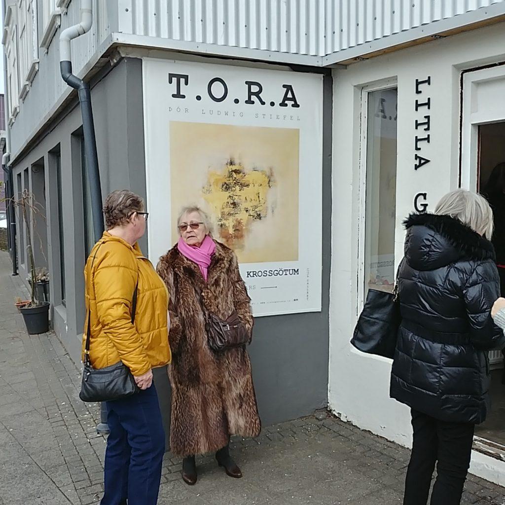 Artist Thor Þór Ludwig Stiefel TORA SNART