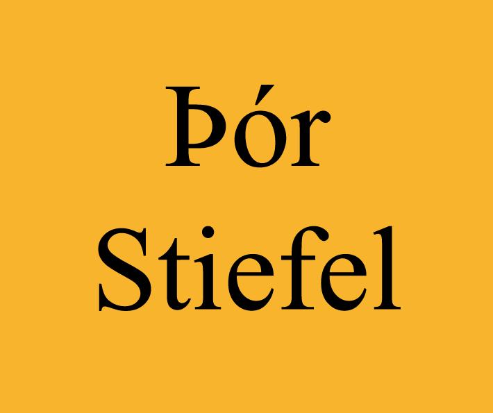 ór Stiefel Listamaður Ísland